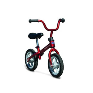 chicco red bullet training bike